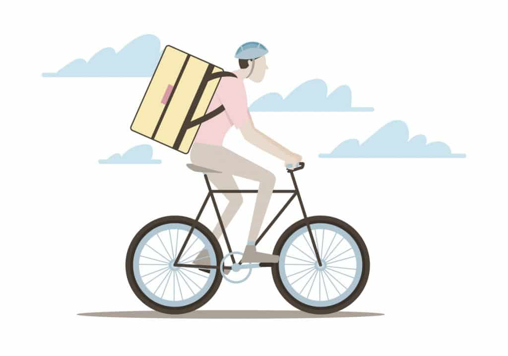 delivery ciclista
